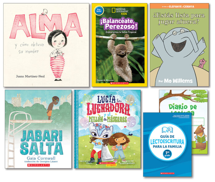 Grab and Go Pack Theme 1: Favorite Books Grade 1 Spanish