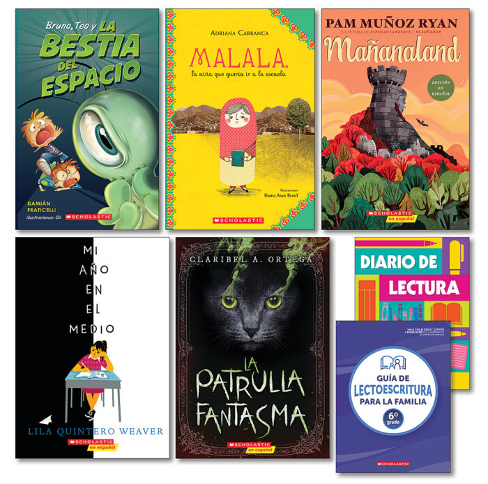 Grab and Go Pack Theme 1: Favorite Books Grade 6 Spanish
