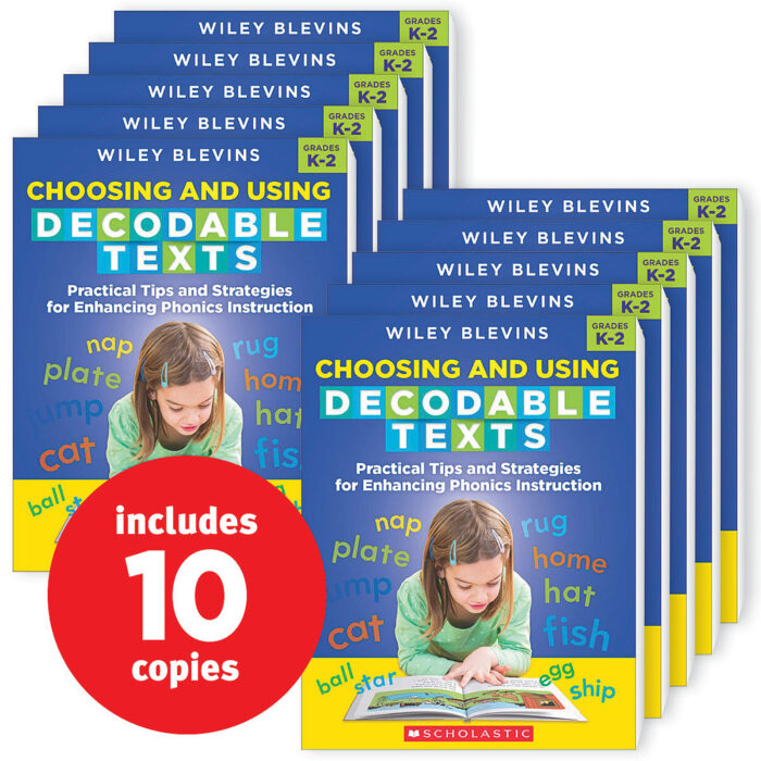 Choosing and Using Decodable Texts (10-copy pack)