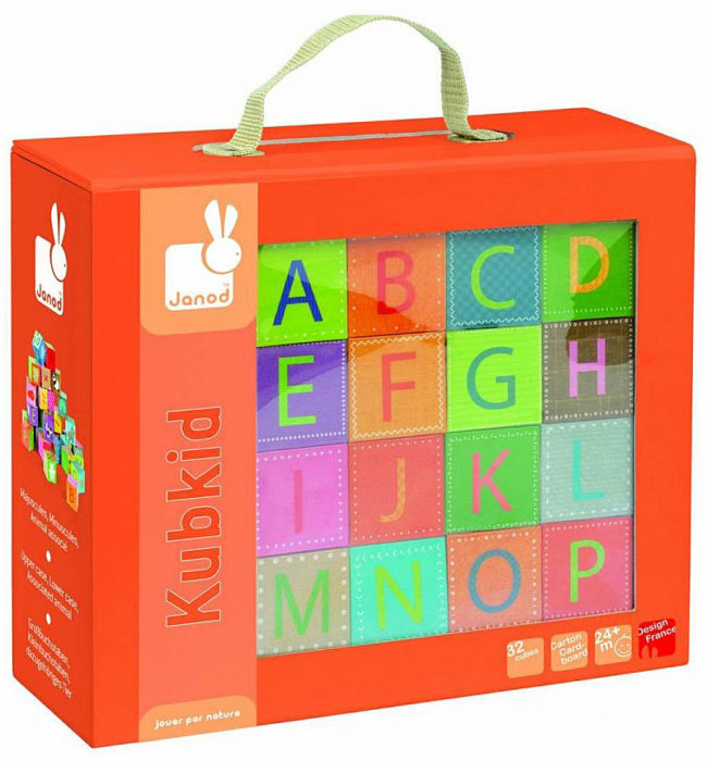 Kubkid Alphabet Blocks