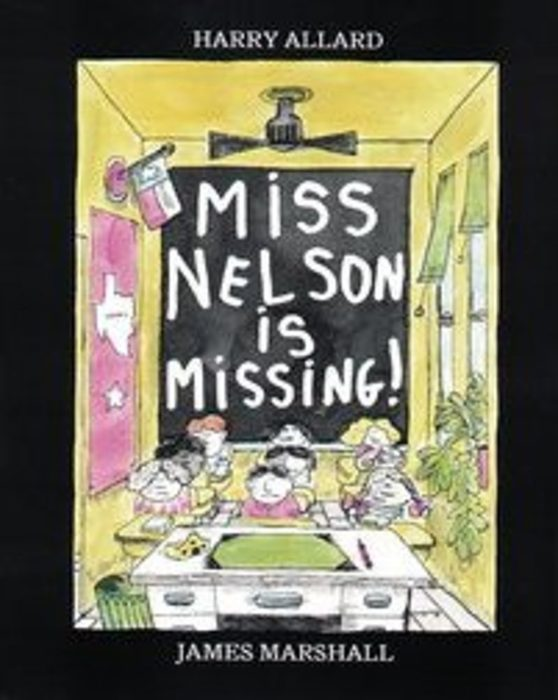 Miss Nelson Is Missing! by Harry Allard - Paperback Book - The