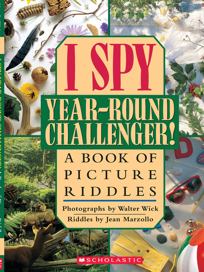 Jean Marzollo - I Spy Year-Round Challenger