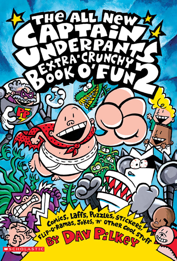 Dav Pilkey - The All New Captain Underpants Extra-Crunchy Book O' Fun #2