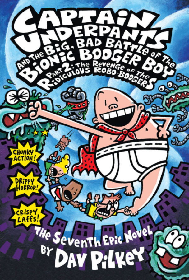 Dav Pilkey - Captain Underpants and the Big, Bad Battle of the Bionic Booger Boy, Part 2