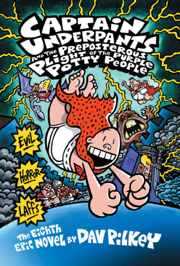 Dav Pilkey - Captain Underpants and the Preposterous Plight of the Purple Potty People