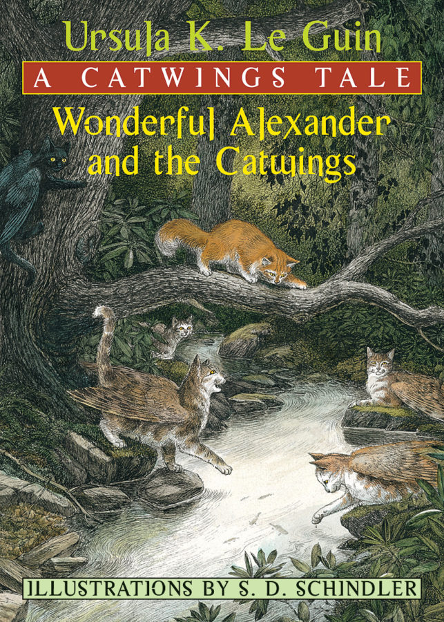 Ursula K. Le Guin - Wonderful Alexander and the Catwings