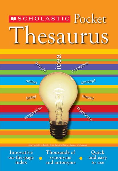 John K. Bollard - Scholastic Pocket Thesaurus