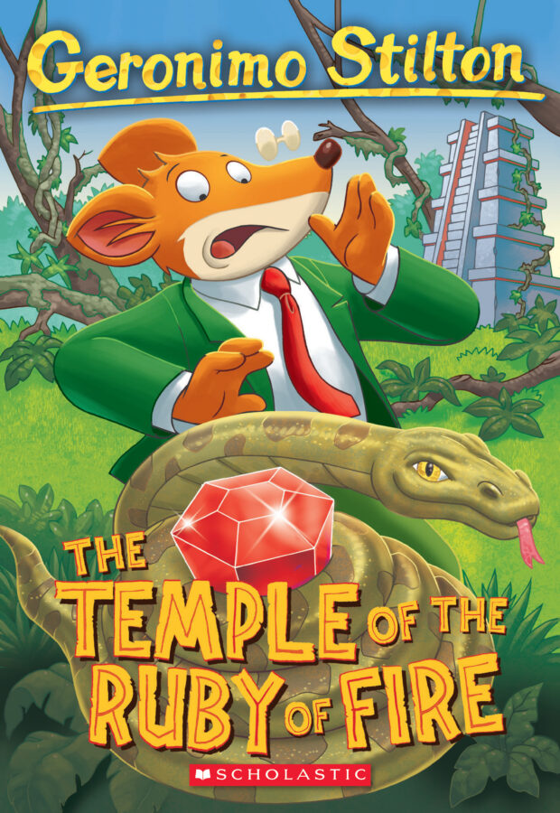 Geronimo Stilton - The Temple of the Ruby of Fire
