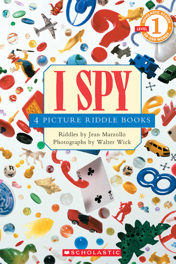 Jean Marzollo - Scholastic Reader Collection Level 1: I Spy: 4 Picture Riddle Books
