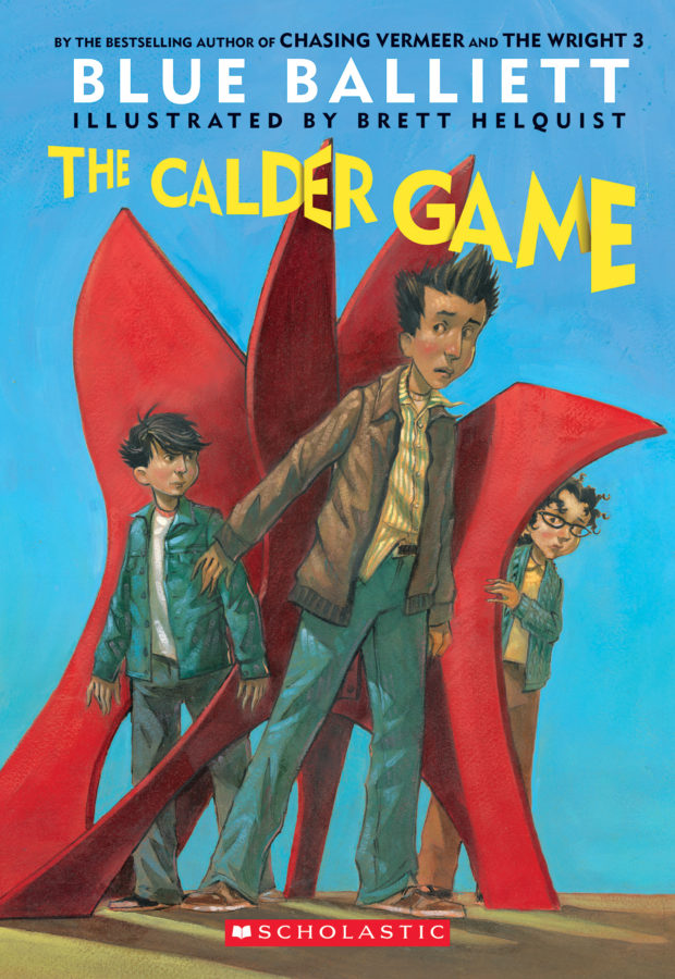 Blue Balliett - The Calder Game