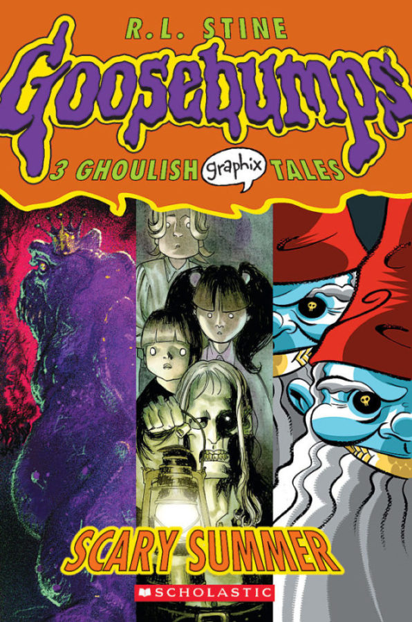 R. L. Stine - Goosebumps Graphix 3: Scary Summer
