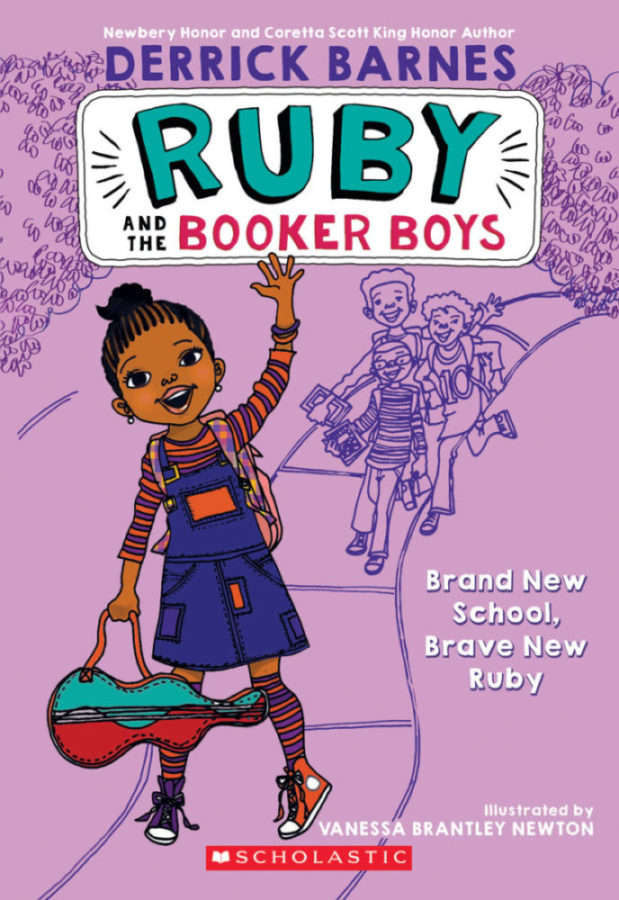 Derrick D. Barnes - Ruby and the Booker Boys #1: Brand New School, Brave New Ruby
