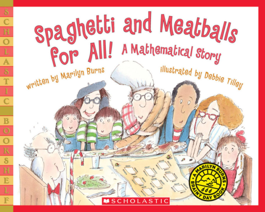 Marilyn Burns - Spaghetti and Meatballs for All! (Bkshelf)