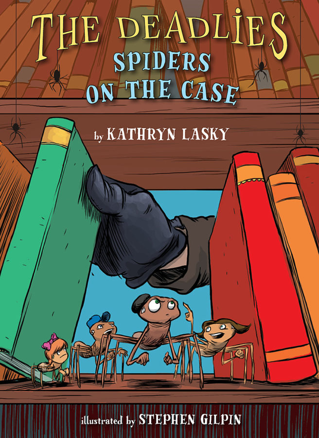 Kathryn Lasky - Spiders on the Case