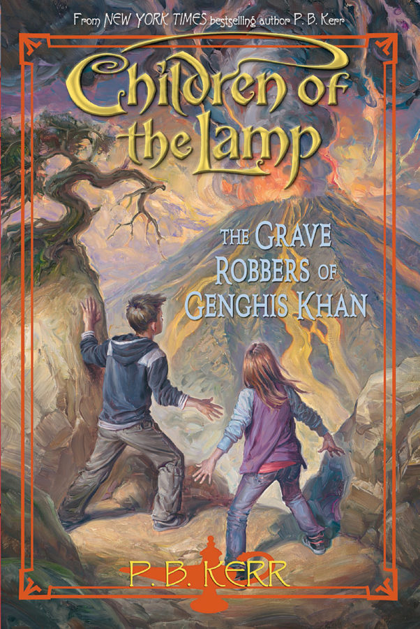 P. B. Kerr - Children of the Lamp #7: The Grave Robbers of Genghis Khan
