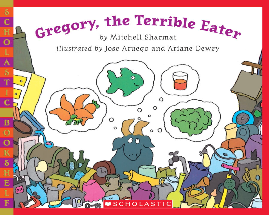 Mitchell Sharmat - Gregory, the Terrible Eater (Bkshelf)
