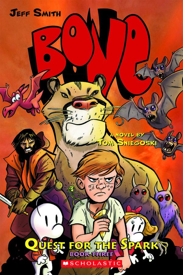 Tom Sniegoski - BONE: Quest for the Spark Book Three