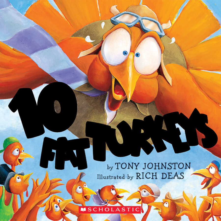 Tony Johnston - Ten Fat Turkeys