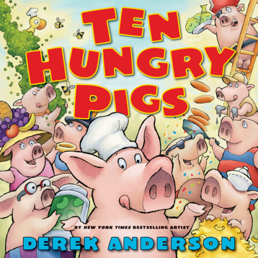 Derek Anderson - Ten Hungry Pigs