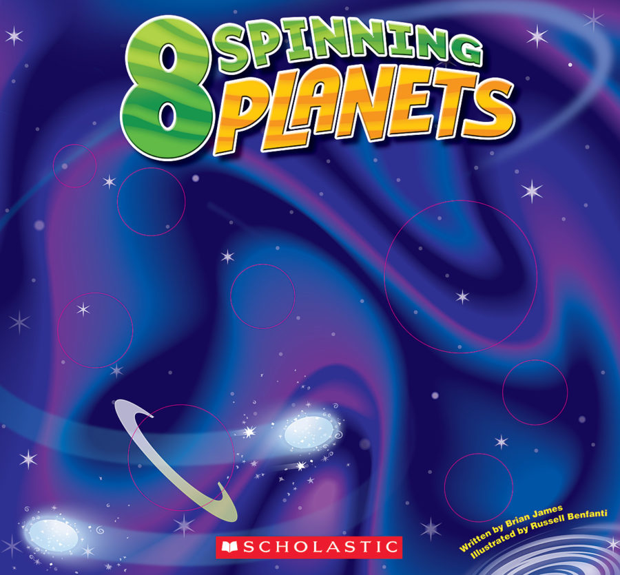 Brian James - Eight Spinning Planets