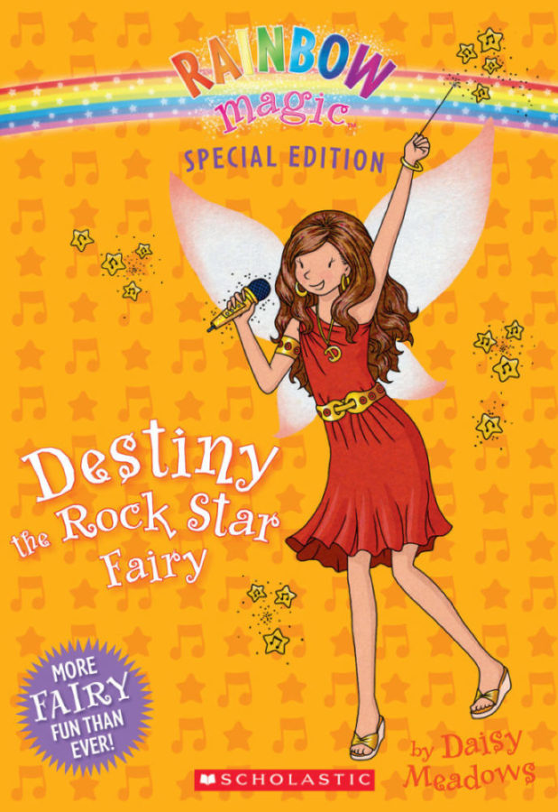 Daisy Meadows - Destiny the Rock Star Fairy
