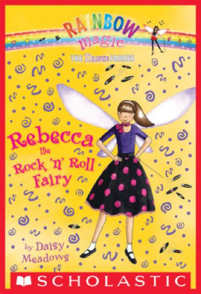 Daisy Meadows - Rebecca the Rock 'n Roll Fairy