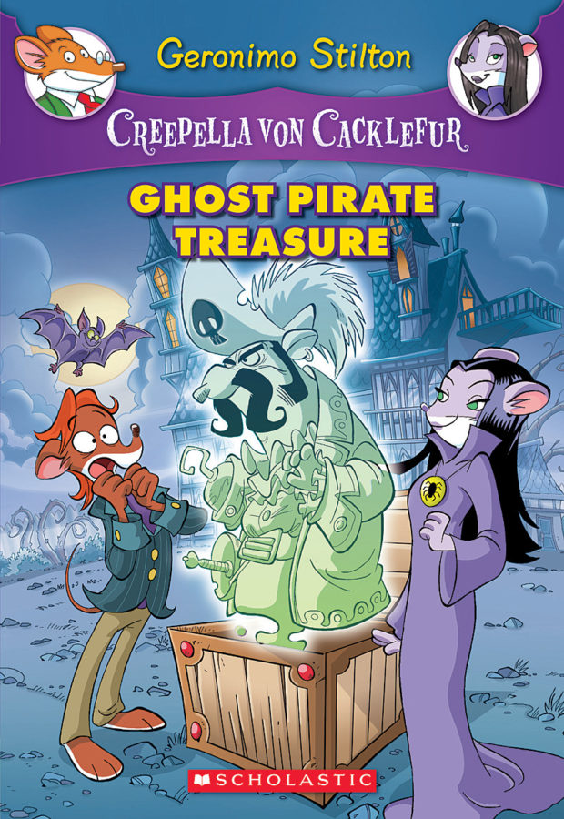 Geronimo Stilton - Ghost Pirate Treasure