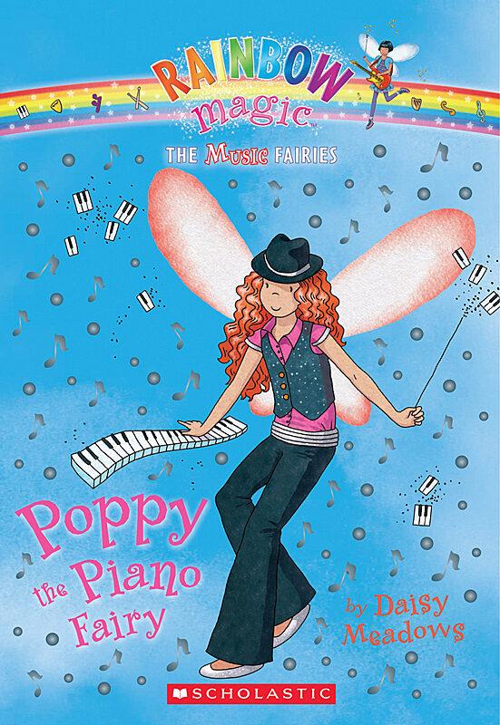 Daisy Meadows - Poppy the Piano Fairy