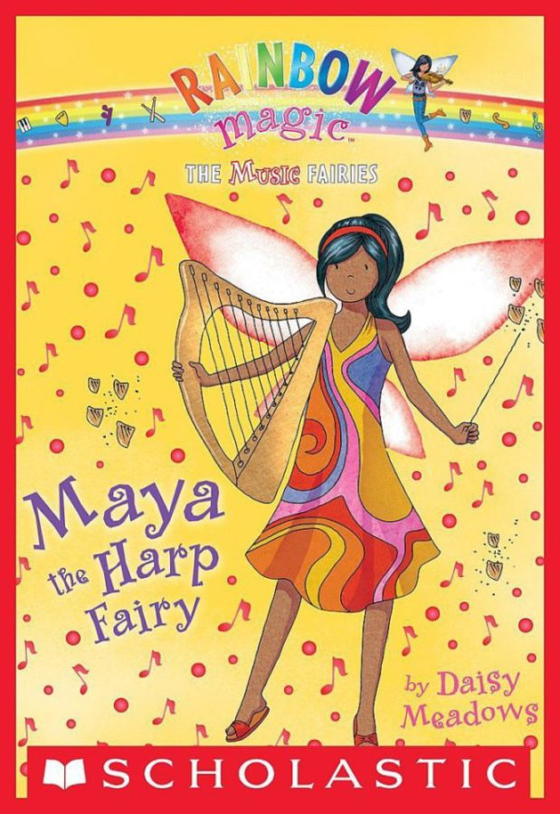 Daisy Meadows - Maya the Harp Fairy