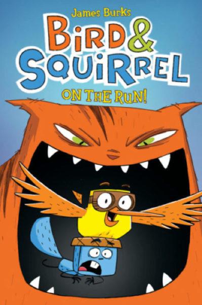 James Burks - Bird & Squirrel on the Run