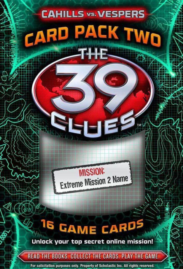 Scholastic - 39 Clues, The: Cahills vs. Vespers Card Pack 2: The Magellan Heist