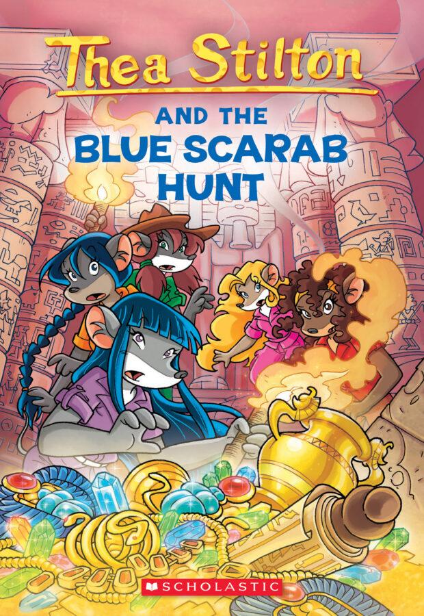 Thea Stilton - Thea Stilton and the Blue Scarab Hunt