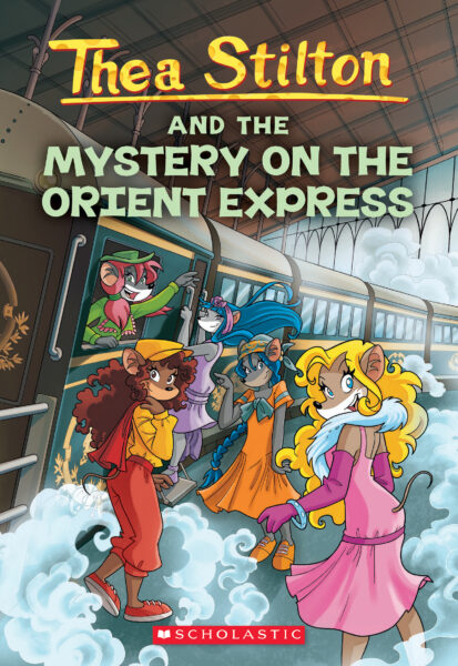 Thea Stilton And The Mystery On Orient Express