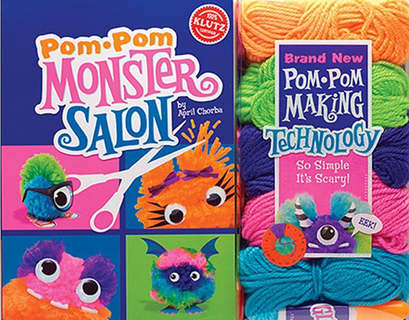 April Chorba - Pom-Pom Monster Salon