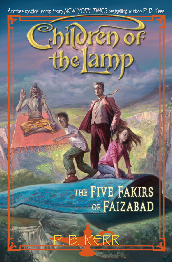 P. B. Kerr - Children of the Lamp #6: The Five Fakirs of Faizabad
