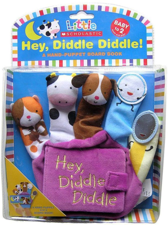 Jill Ackerman - Little Scholastic: Hey Diddle Diddle Hand Puppet Board Book
