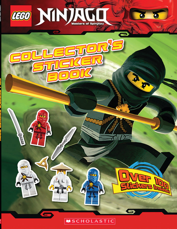 Scholastic - LEGO NINJAGO: Collector's Sticker Book