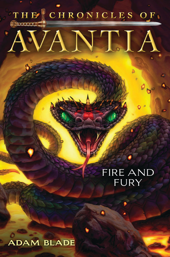 Adam Blade - Chronicles of Avantia, The #4: Fire and Fury