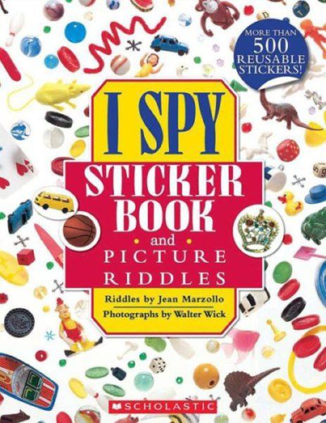 Jean Marzollo - I Spy Sticker Book and Picture Riddles
