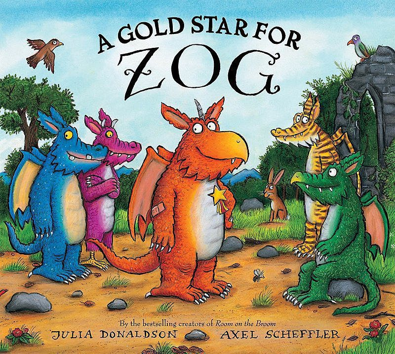 Julia Donaldson - A Gold Star for Zog