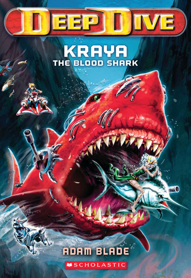 Adam Blade - Kraya the Blood Shark
