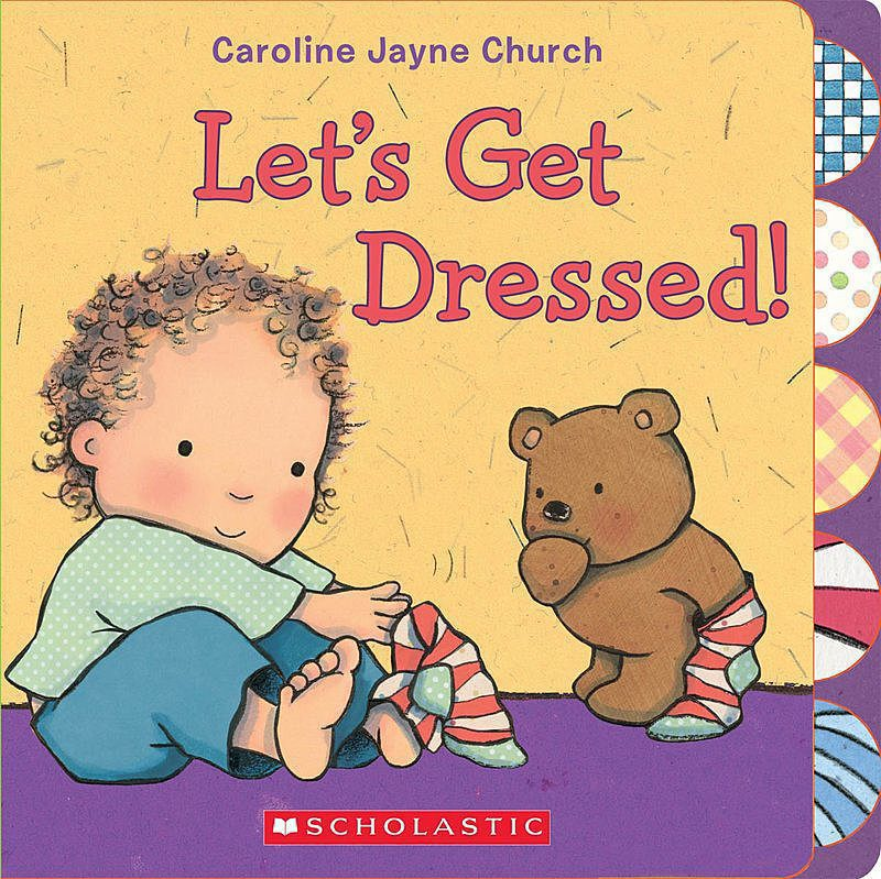 Caroline Jayne Church - Let's Get Dressed!