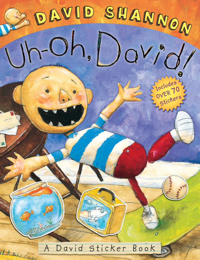 David Shannon - Uh-Oh, David! Sticker Book