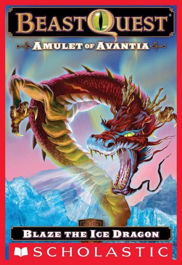 Adam Blade - Beast Quest #23: Amulet of Avantia: Blaze the Ice Dragon