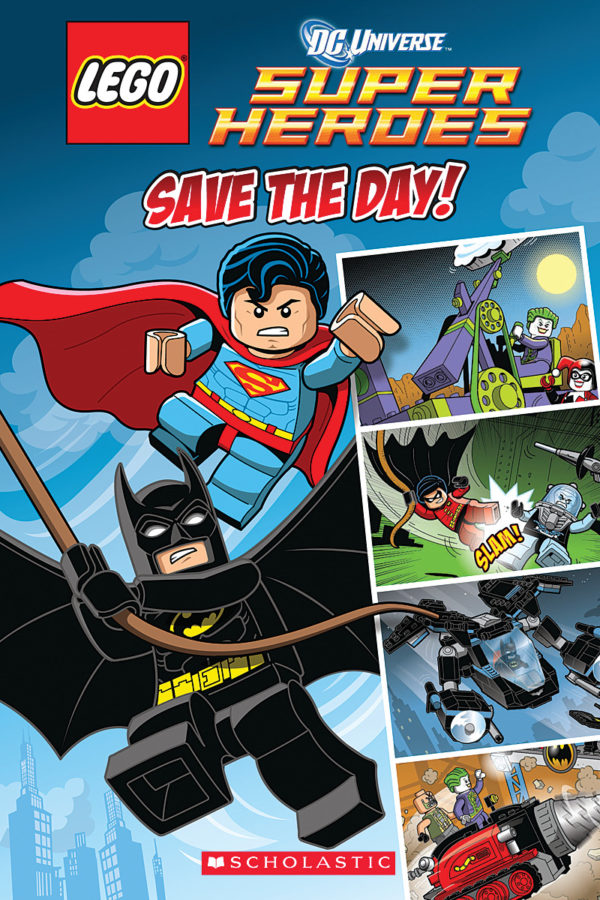 Scholastic - LEGO DC Super Heroes: Save the Day (Comic Reader #1)