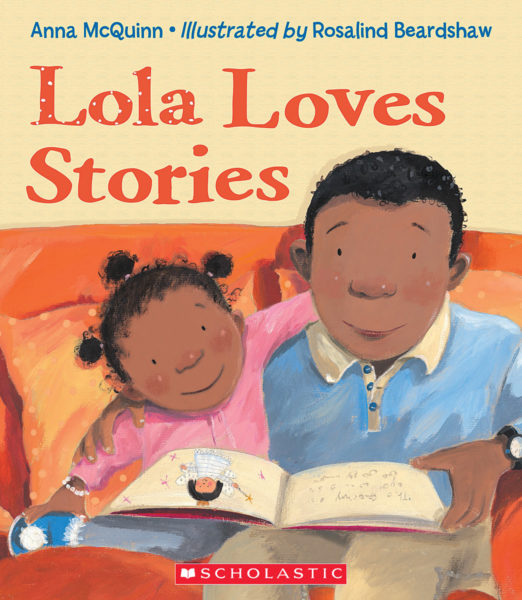 Anna McQuinn - Lola Loves Stories