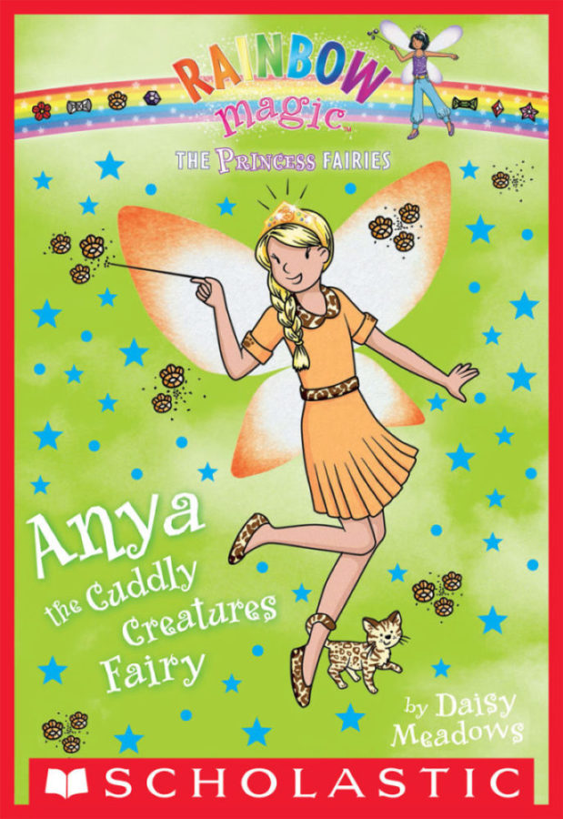 Daisy Meadows - Princess Fairies, The #3: Anya the Cuddly Creatures Fairy
