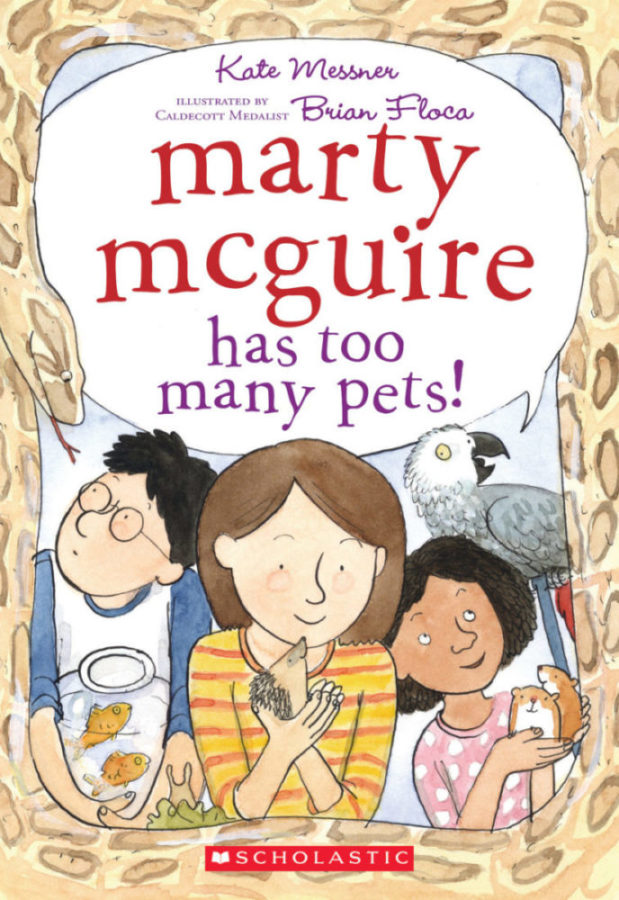Kate Messner - Marty McGuire Has Too Many Pets!