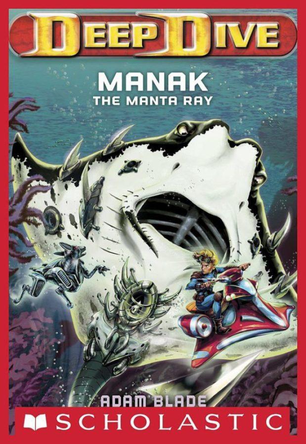 Adam Blade - Deep Dive #3: Manak the Manta Ray