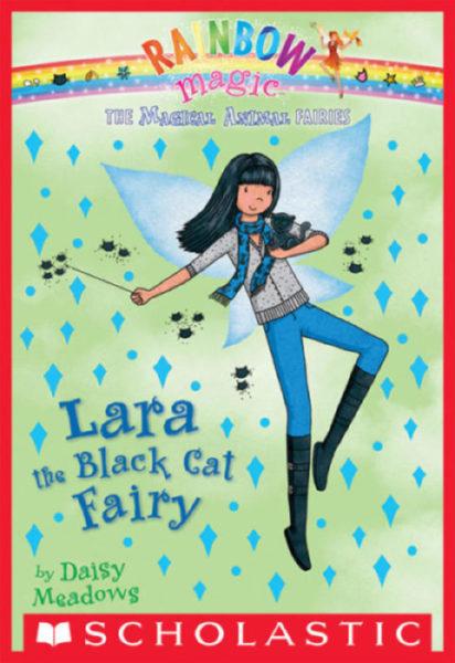 Daisy Meadows - Lara the Black Cat Fairy